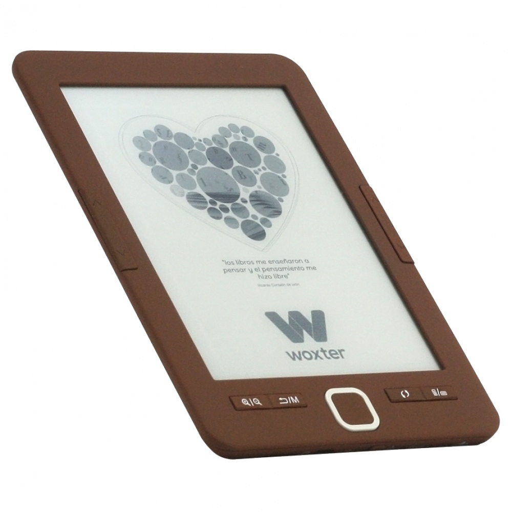 E-BOOK WOXTER SCRIBA 195 6 4GB E-INK CHOCOLATE
