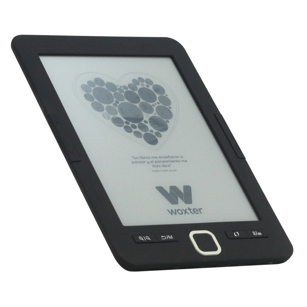 E-BOOK WOXTER SCRIBA 195 6 4GB E-INK NEGRO