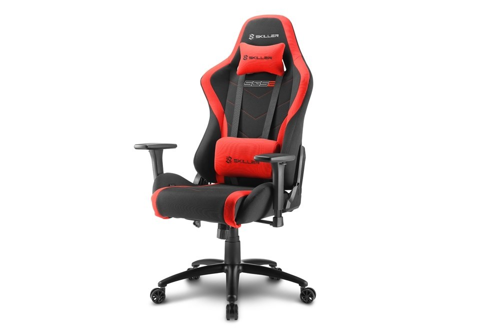 SILLA GAMER SHARKOON SKILLER SGS2 NEGRA ROJA