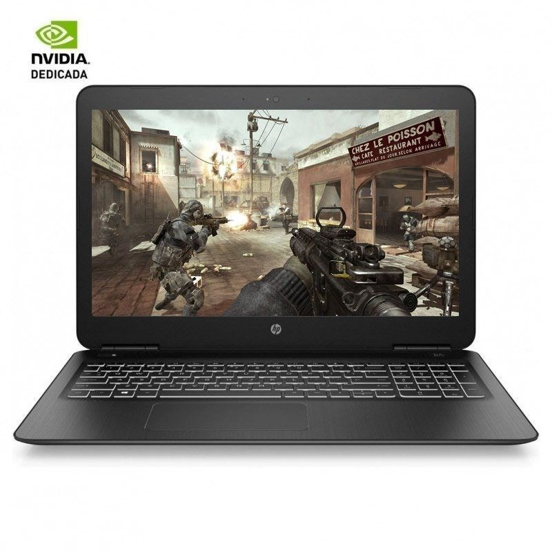 PORTATIL GAMING HP 15-BC450NS I5-8300H-8G-128SSD+1T-GTX1050-
