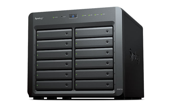 NAS SYNOLOGY 0TB 12 BAY DS3617XS