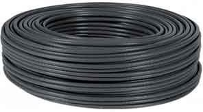 CABLE 100M FTP BOBINA RJ45 CAT6 FLEXIBLE NEGRO