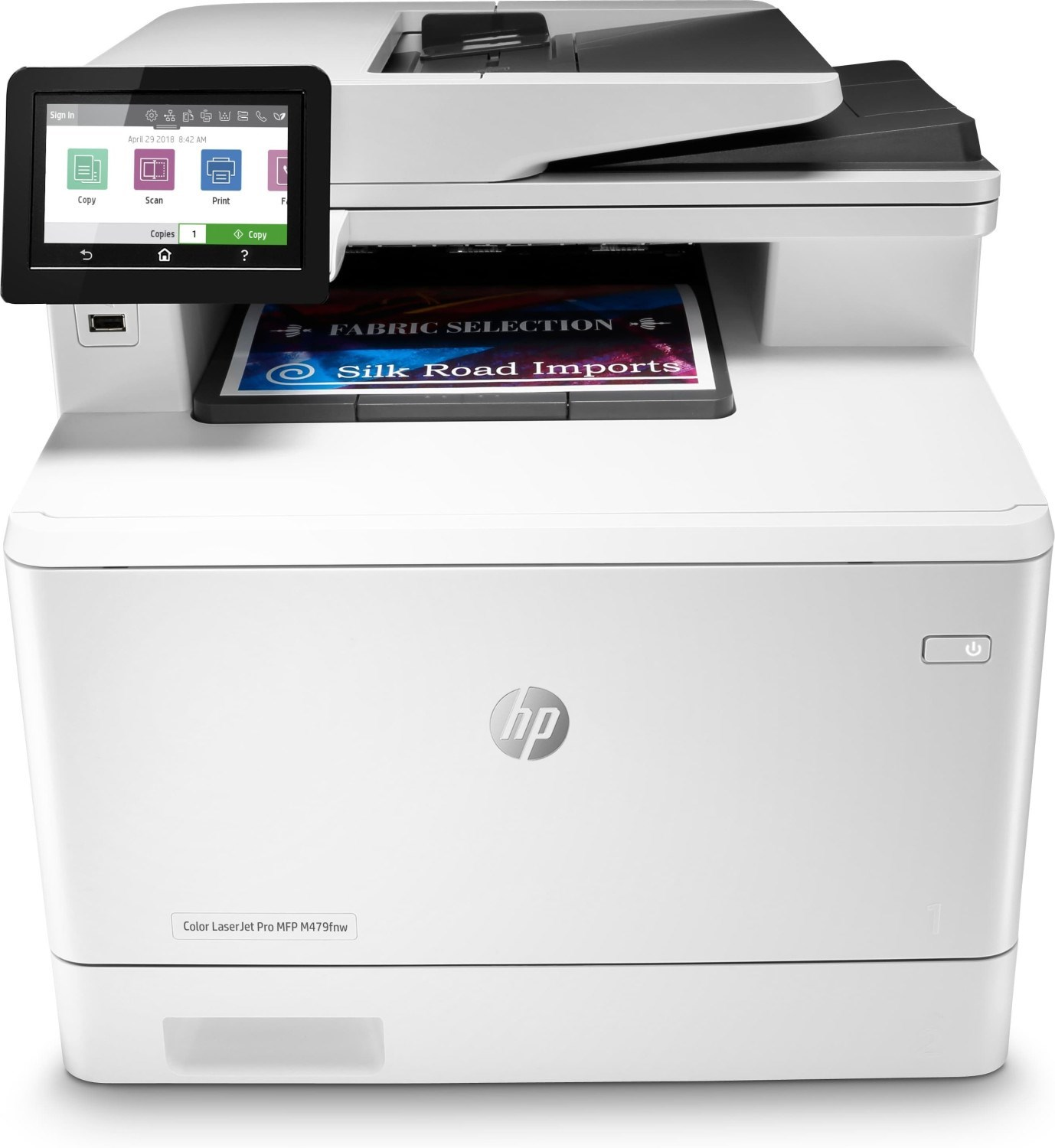 MULTIFUNCION LASER COLOR HP LASERJET PRO M479FNW