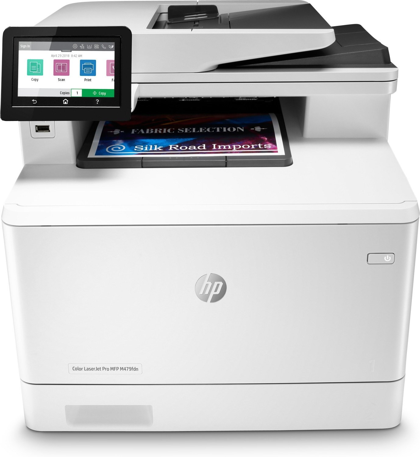 MULTIFUNCION LASER COLOR HP LASERJET PRO M479FDN