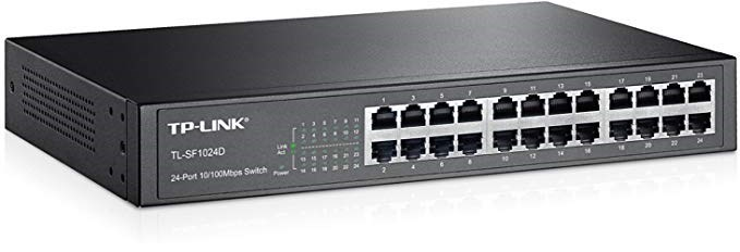 SWITCH TP-LINK 24P 10-100 NO GESTION