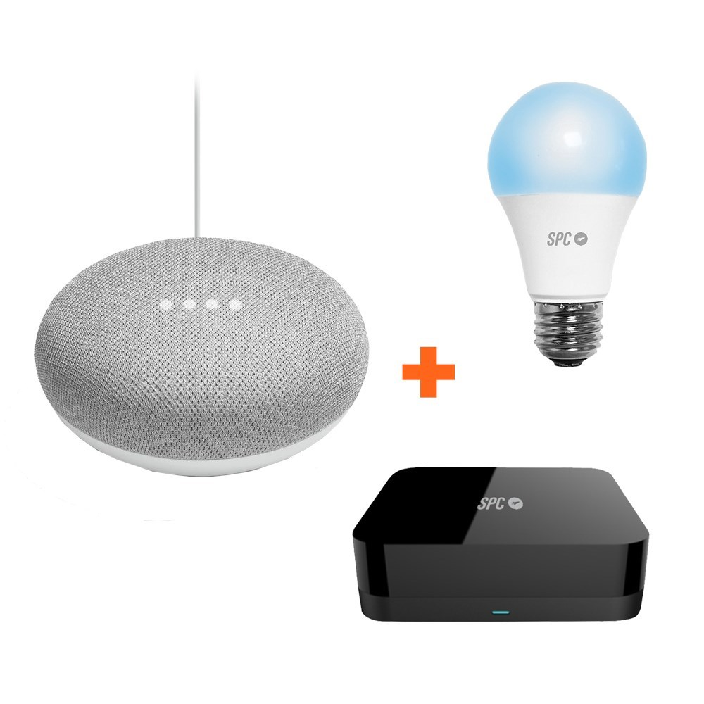 BUNDLE SPC IOT GOOGLE HOME MINI+ HORUS+SIRIUS 1050