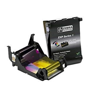 RIBBON COLOR ZEBRA ZXP SERIES YMCKO 400 TARJETAS