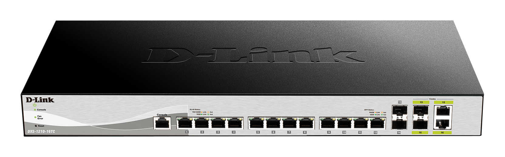 SWITCH D-LINK 12 PUERTOS 10GBASE-T + 2SFP 10GB