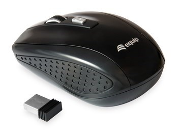 RATON EQUIP OPTICAL WIRELESS TRAVEL MOUSE