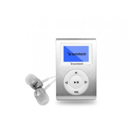 MP3 SUNSTECH DEDALOIII 8GB PLATA