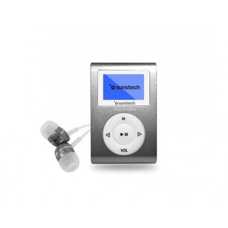 MP3 SUNSTECH DEDALOIII 8GB GRIS COBALTO