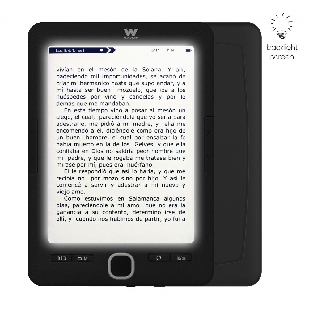 E-BOOK WOXTER SCRIBA 195 PAPERLIGHT BLACK