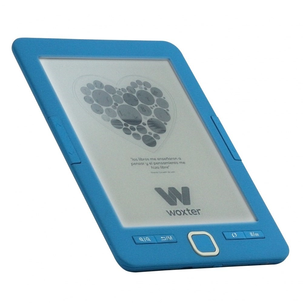 E-BOOK WOXTER SCRIBA 195 PAPERLIGHT BLUE