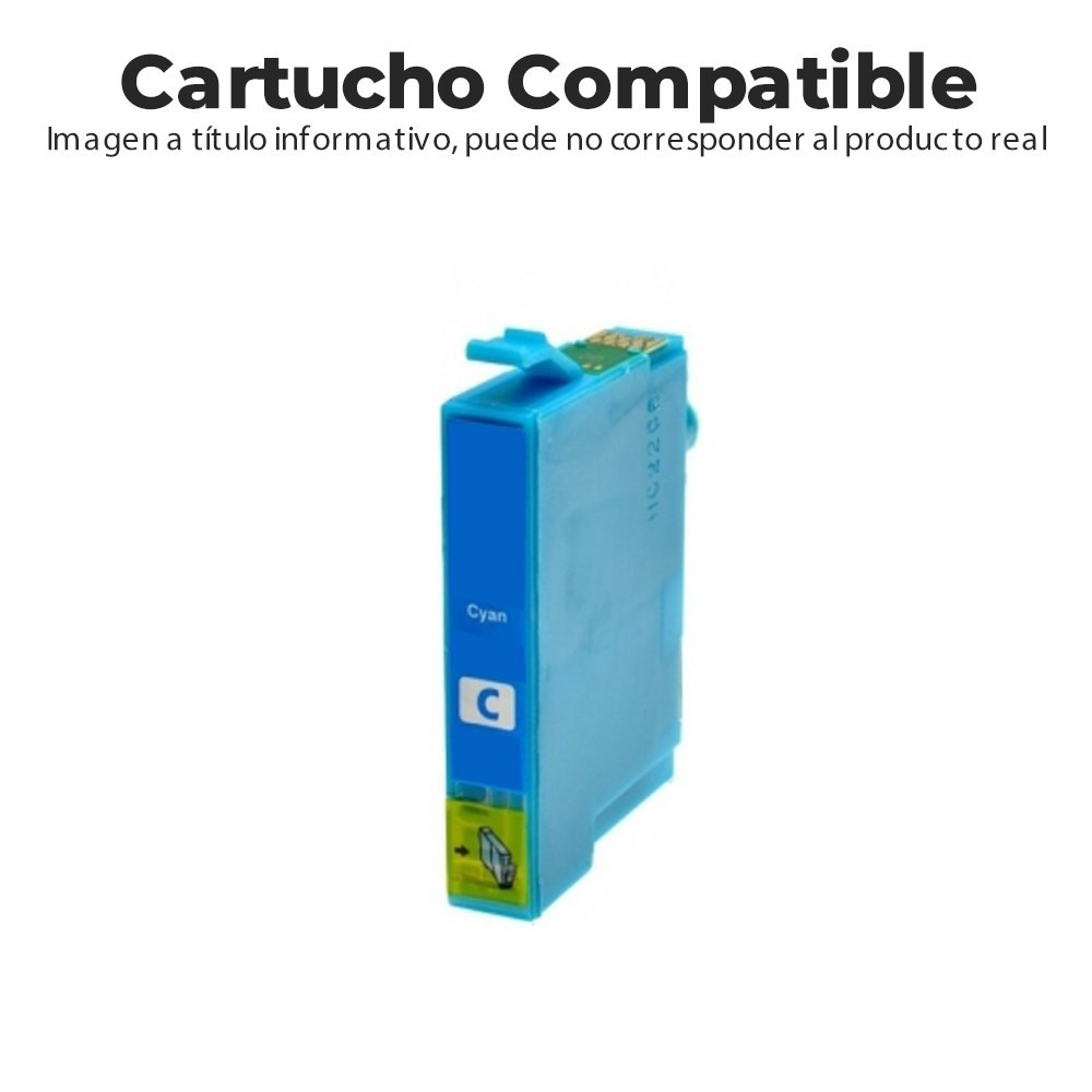 CARTUCHO COMPATIBLE CON HP 903XL T6M03AE CIAN