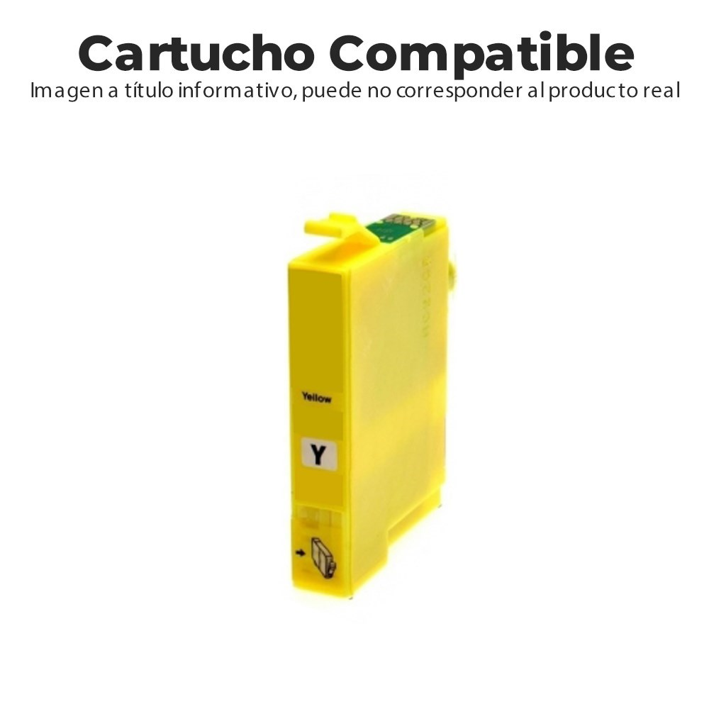 CARTUCHO COMPATIBLE CON HP 903XL T6M11AE AMARILLO