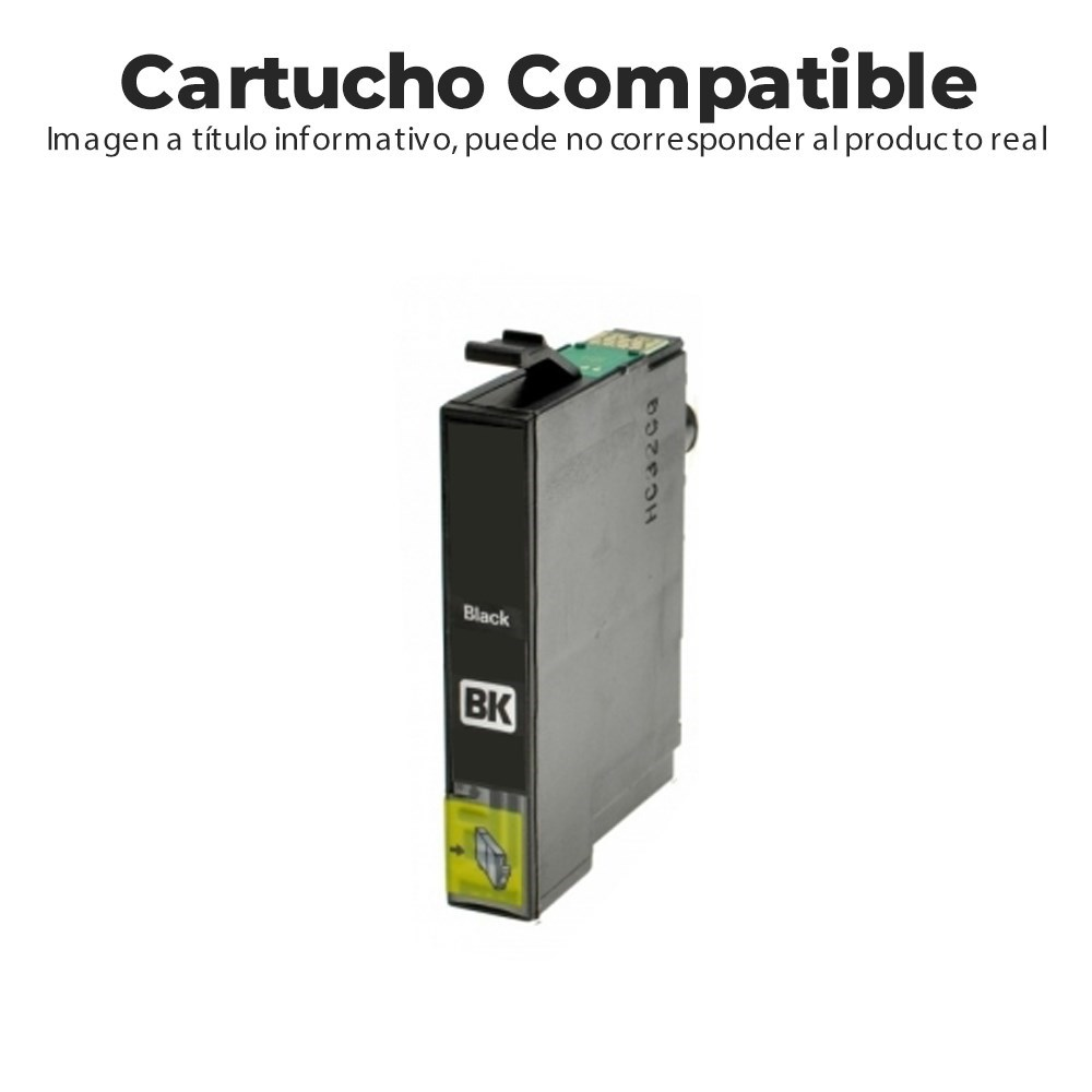CARTUCHO COMPATIBLE CON HP 903XL T6M15AE NEGRO
