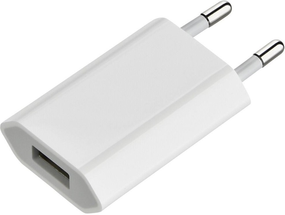CARGADOR 5V USB IPHONE ORIGINAL APPLE BULK