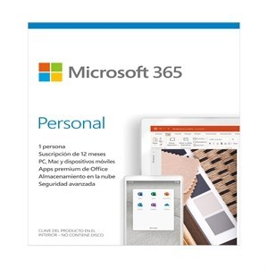 MICROSOFT OFFICE 365 PERSONAL 1PC CAJA
