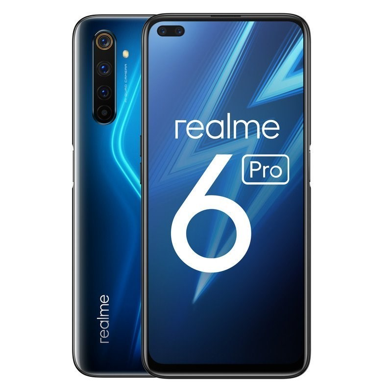 TELEFONO MOVIL REALME 6 PRO LIGHTING BLUE 6.6-OC2.3-8GB-128GB