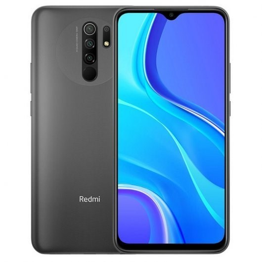 TELEFONO MOVIL XIAOMI REDMI 9 GRIS NFC 6.53-OC2.0-4GB-64GB