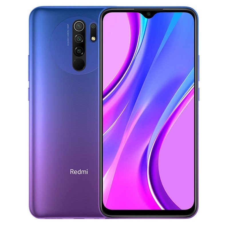 TELEFONO MOVIL XIAOMI REDMI 9 PURPURA NFC 6.53-OC2.0-4GB-64GB