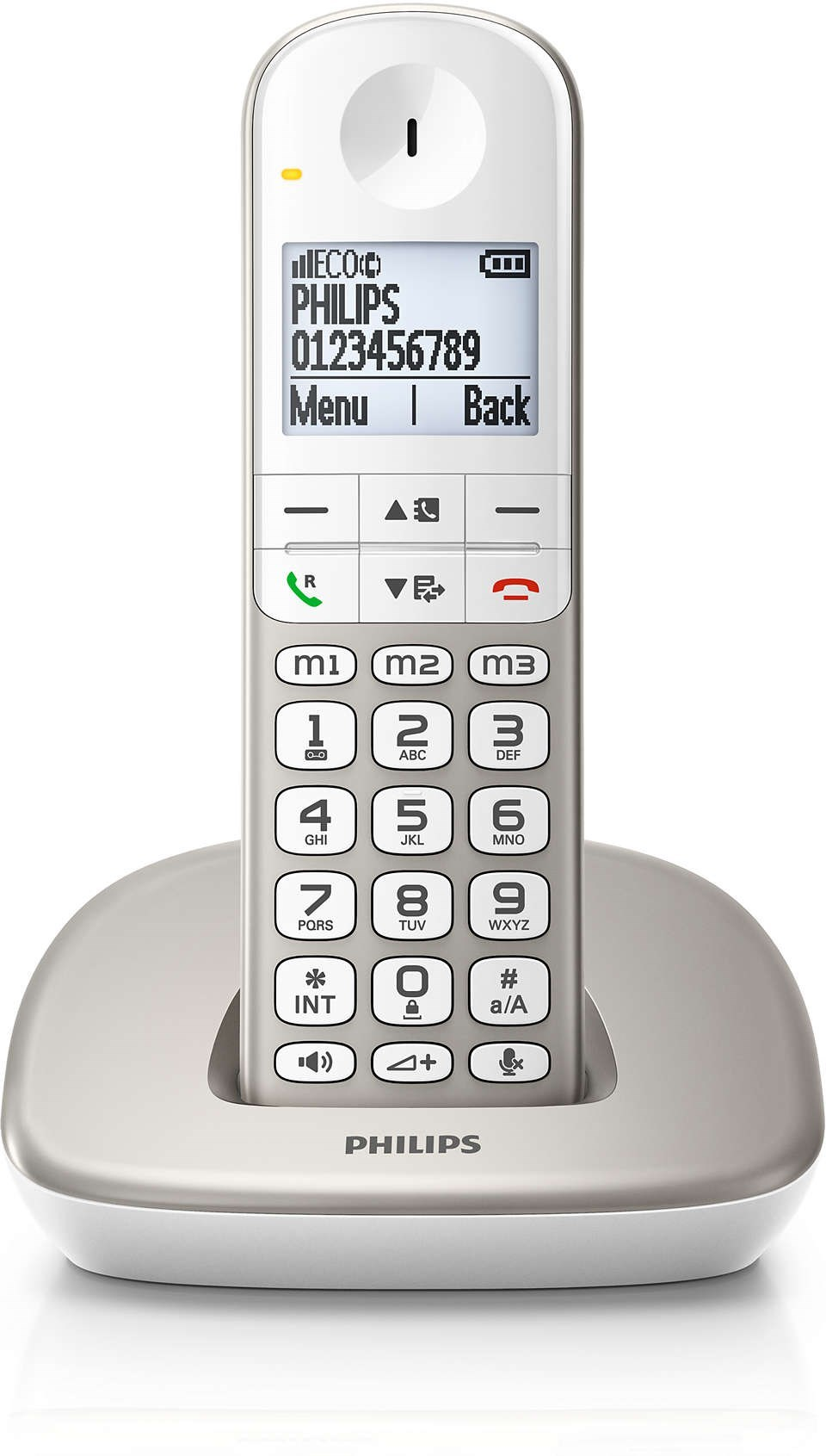 TELEFONO PHILIPS XL490 TECLAS GRANDES COMP. AUDIFO