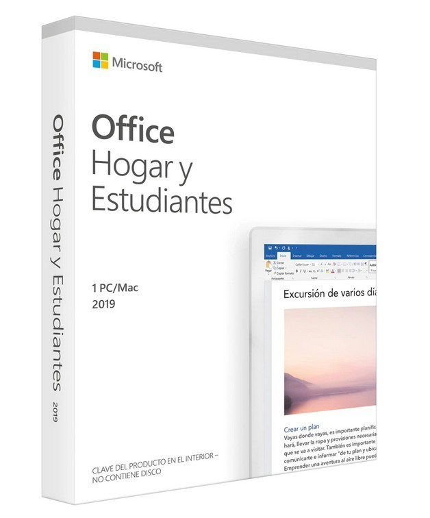 MICROSOFT OFFICE HOME AND STUDENT 2019 - WIN10