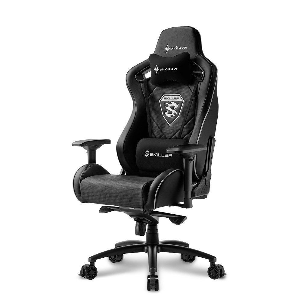 SILLA GAMER SHARKOON SKILLER SGS4 NEGRA