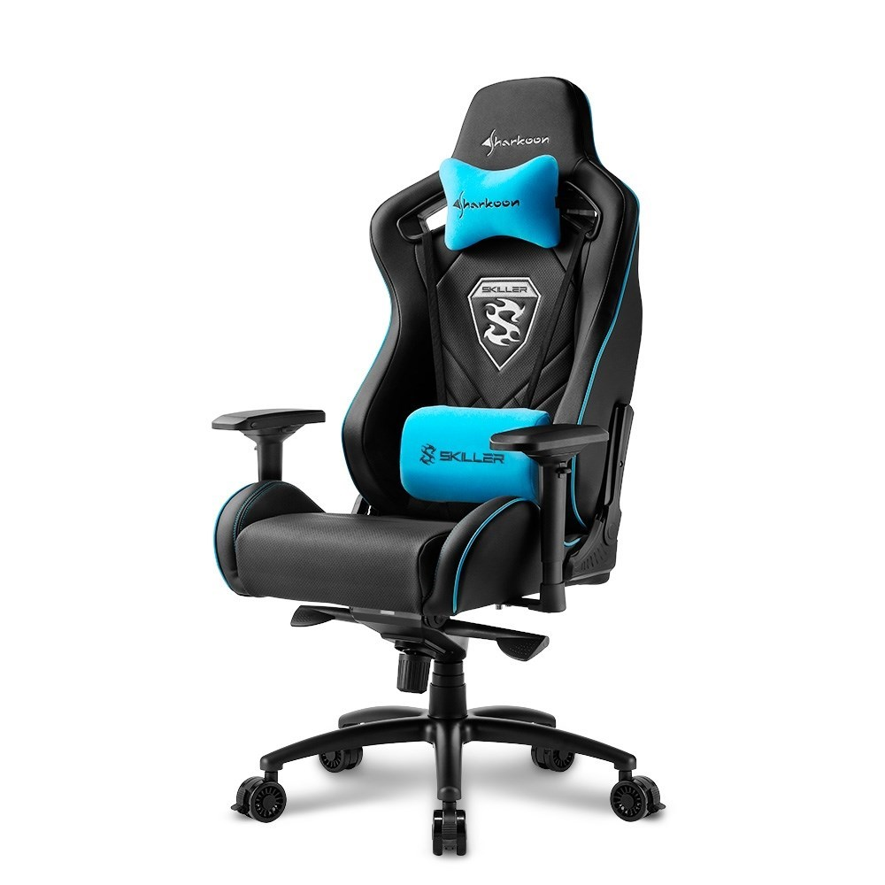 SILLA GAMER SHARKOON SKILLER SGS4 NEGRA AZUL