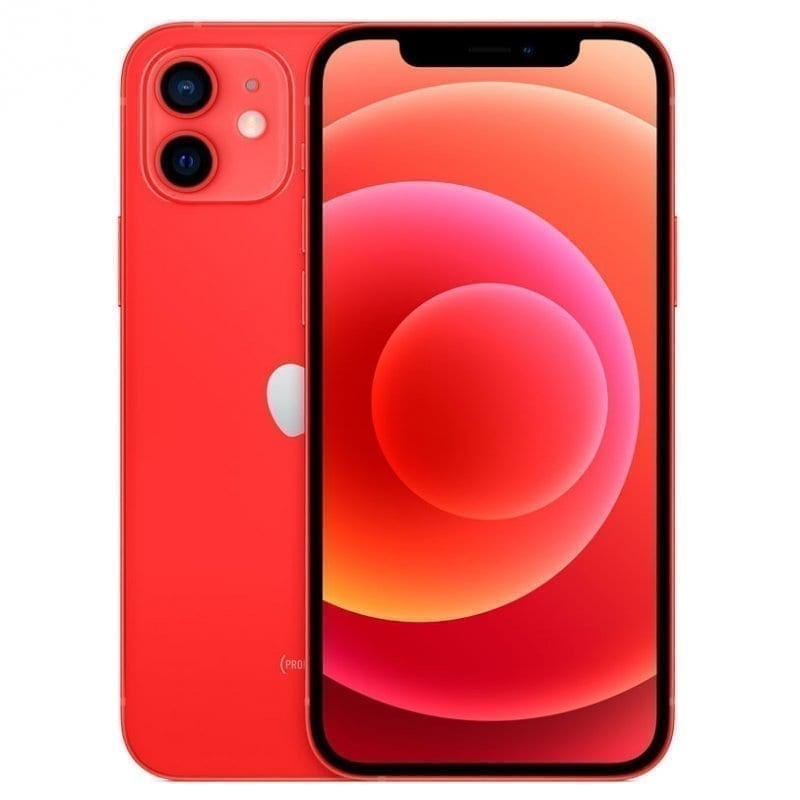 TELEFONO MOVIL APPLE IPHONE 12 64GB ROJO