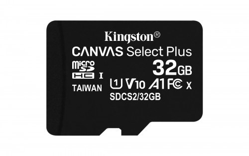 MEMORIA MICRO SD 32GB KINGSTON CLASE 10 SIN ADAP