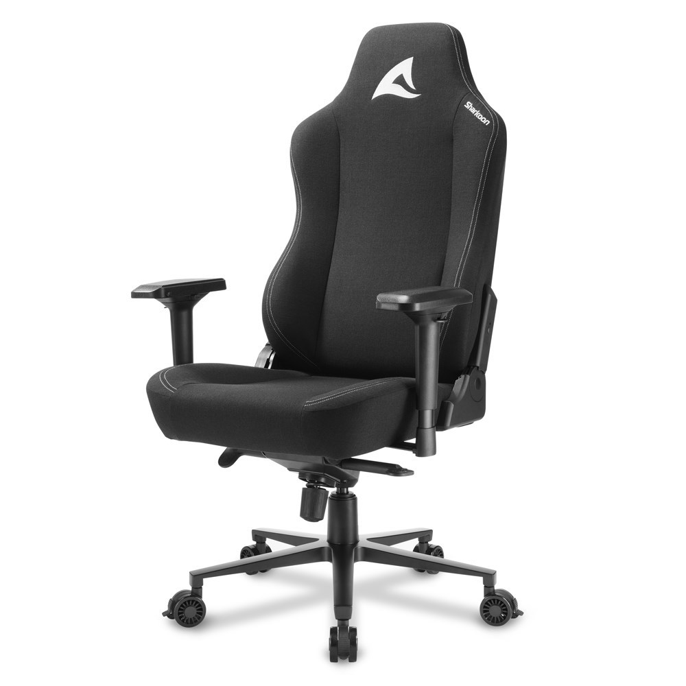 SILLA GAMER SHARKOON SKILLER SGS40 NEGRA FABRIC