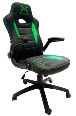 SILLA GAMING DROXIO TROUN VALUE NEGRA-VERDE