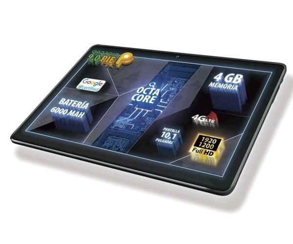 TABLET TALIUS ZIRCON 1016 4G NEGR.10.1 OC2.0-4GB-