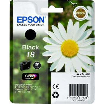 Cartucho Epson Exression Home Xp102/202/205 Negro