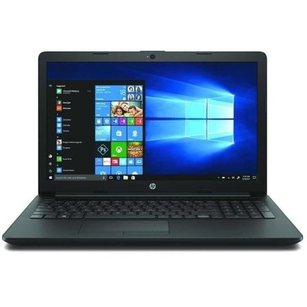 PORTÁTIL HP 15-DA1032NS - I5-8265U 1.6GHZ - 8GB - 256GB SSD - 15.6/39.6CM HD - HDMI - BT - NO ODD - W10 HOME - NEGRO AZABACHE