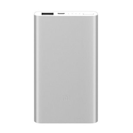 Cargador Usb Power Bank 2 Silver Xiaomi 5000mah