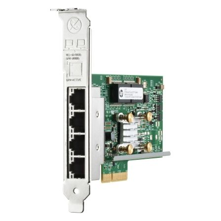 ADAPTADOR ETHERNET HPE 331T - 1GB - 4 PUERTOS - PCI EXPRESS 4 VÍAS - COMPATIBLE SERVIDORES PROLIANT