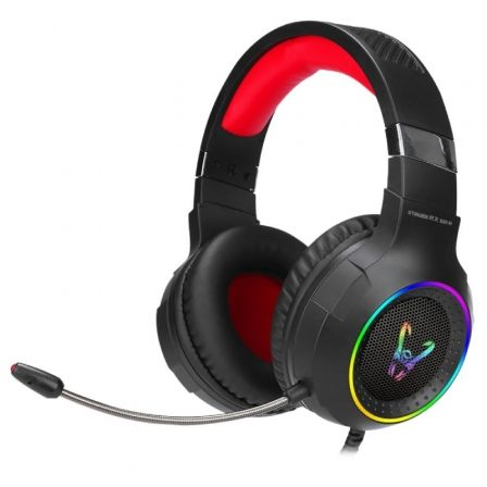 Auriculares Gaming con Micrófono Woxter Stinger RX 930 H/ USB 2.0/ Negros